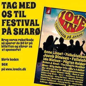 LoveIn Festival på Skarø